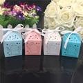 50 unids regalo de la ducha de bebé decoración de la fiesta de cumpleaños fiesta decoración de la boda Candy chocolate invitados Cartoon Elephant