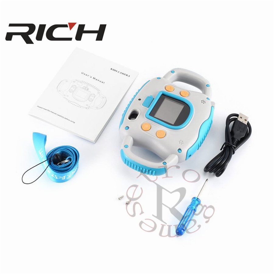 "RICH 1.5"" Mini LCD Camera HD 500W Digital Camera"
