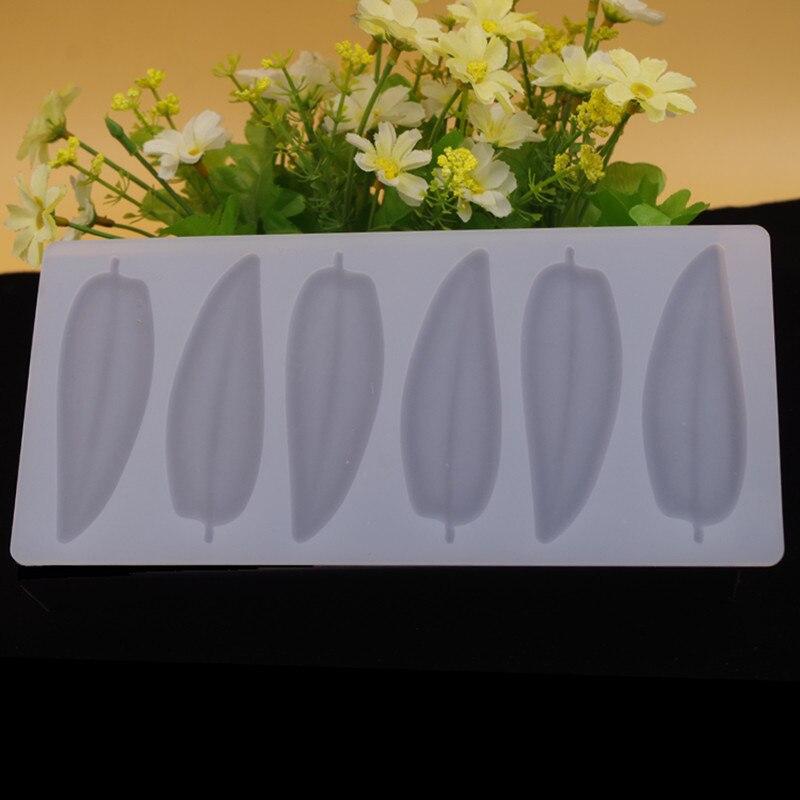 DIY 3D yarpaqları forma silikon şokolad qəlibindən hazırlanmış - Mətbəx, yemək otağı və barı - Fotoqrafiya 5