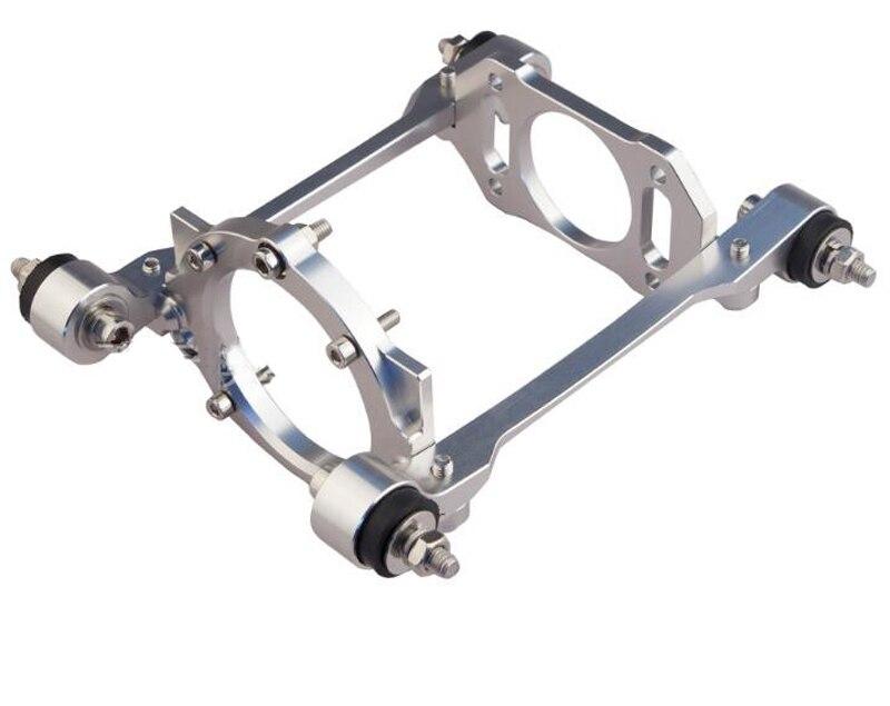 1 PC 32cc Zenoah Base de moteur en aluminium CNC Enigne Support de cadre Support pièces de rechange pour RC Nitro essence bateau moteurs