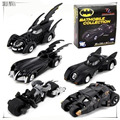5 шт. Бэтмен Автомобилей набор Super Cool Черный Сплав Бэтмобиль Модели автомобилей Металла Материал Бэтмен мальчика Игрушечную Машинку 5 шт. набор
