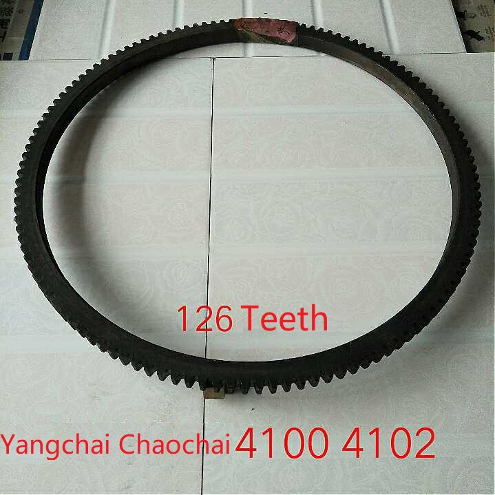 Fast Shipping 4100 4102 Flywheels Flywheel 126 teeth diesel engine Flywheel gear ring suit for China brand цены онлайн