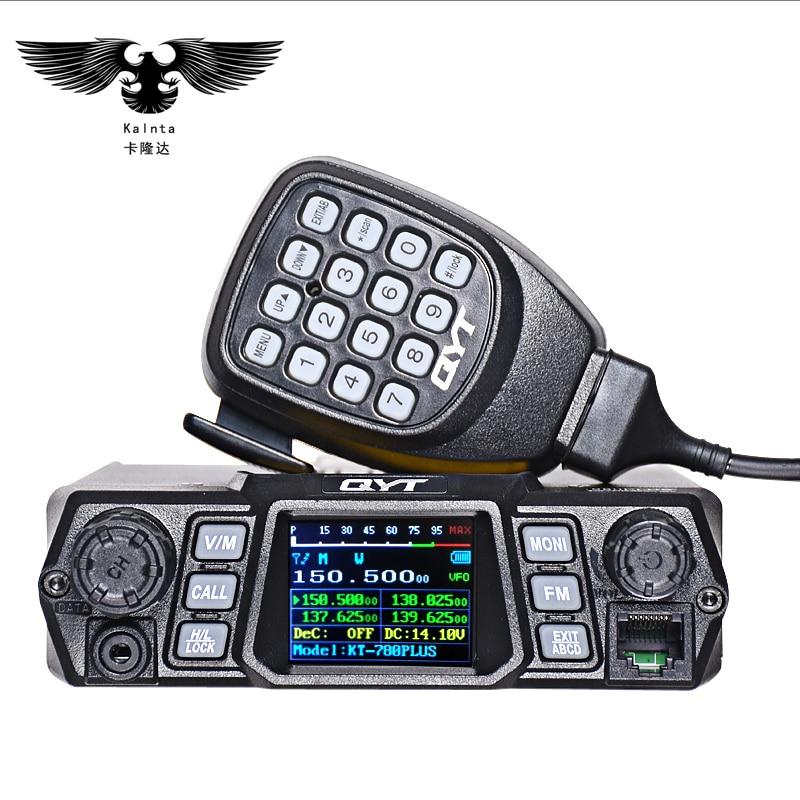 QYT KT-780PLUS 100W High-power נייד raido Dual Band הלהקה - ווקי טוקי