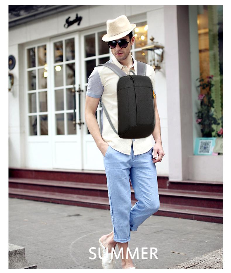 Waterproof S ports Backpack Out Door Luggage Shoulder Women Men School Bags Bagpack Mini Small Teenage Travel Rucksack 4