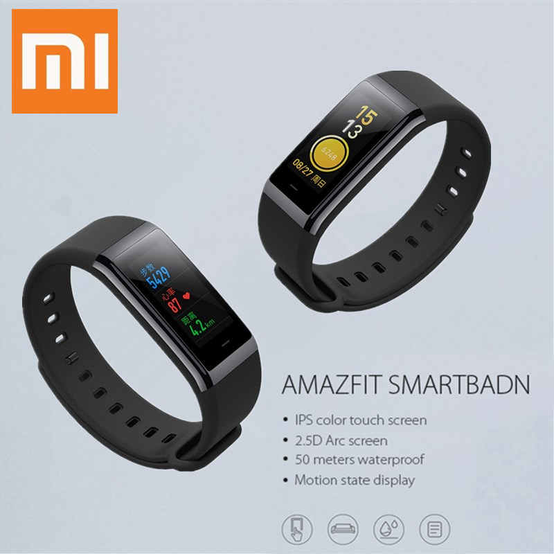Xiaomi Smart Wristband Huami AMAZFIT Bip Midong Smartband Bluetooth 4.1 Smart Band GPS Heart Rate Monitor Swimming Waterproof