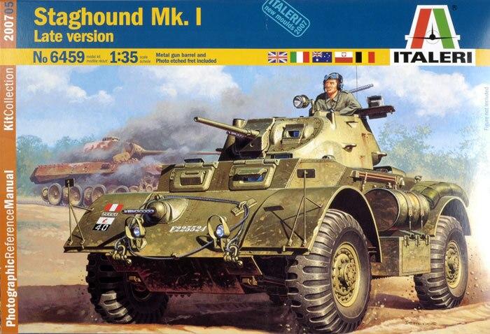 Staghound Mk I Italeri 6459 Kit English