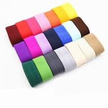 23 Цвета 1 м 20 мм эластичная лента Многоуровневая лента из спандекса для шитья кружевная отделка поясная лента аксессуары для одежды
