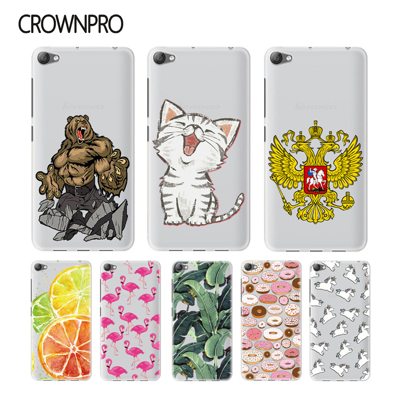 CROWNPRO Soft Silicone font b Case b font For Lenovo S60 S60T font b Case b