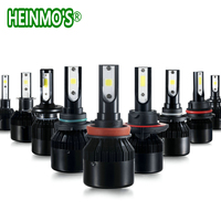 2 Led Headlights H4 H7 CSP Bulb Car Fog Light H8 H9 H1 Lamp H3 9005