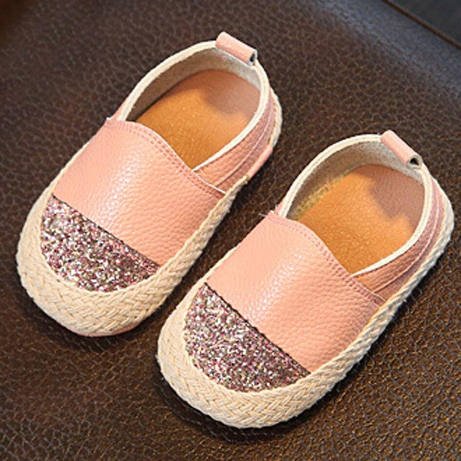 Kitiin Leather Baby Espadrilles 2017