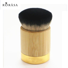 1pc Professional Bamboo Handle Makeup Brush Tart Powder Foundation Contour Brushes Blending Cosmetic Kabuki Brush Make up Tool