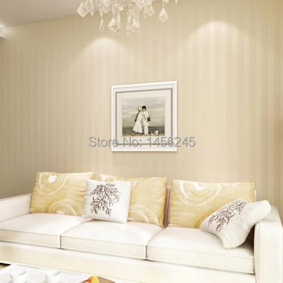 Modern Simple Style Designer Neutral Colour Striped Textured Vinyl Wallpaper  Living Room Background Wall Paper Em Papéis De Parede De Melhoramento Da  Casa ...