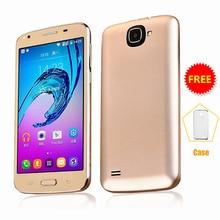 SERVO J7 5.5 pouce téléphone portable Android 6.0 Spreadtrum7731C Quad Core 1.2 GHz Dual Sim 5.0MP GSM WCDMA mobile téléphones P073