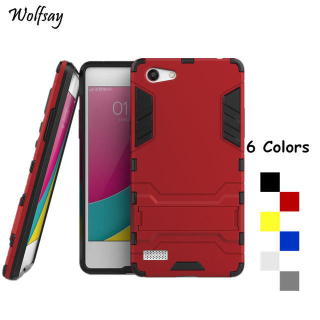 Wolfsay For Cover Oppo Neo 7 Case A33 A33T A33M Shockproof Robot Armor Phone Case For Oppo Neo 7 Phone Cover For Oppo A33W