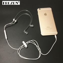 3.5 ملليمتر مكافحة الإشعاع سماعة الهواء الربيع القناة Earhook ستيريو سماعة رأس لهاتف آيفون 6 ثانية زائد Xiaomi Note3 Note2 لهاتف إل جي الذكي