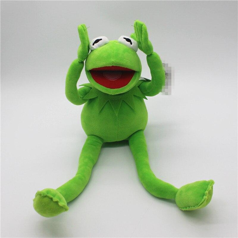 Hot Sale 40cm Kermit Plush Toys Sesame Street frogs Doll Stuffed Animal Kermit Toy Dropshipping
