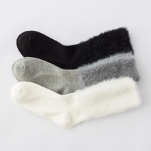 Socks WomenS 2019 Winter Warm Cotton Thickening Classic Stocks Cuffs Temperament