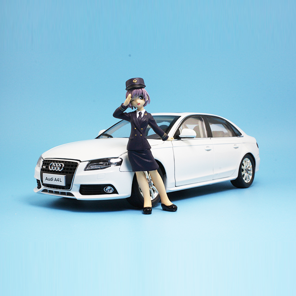 1/18 All New Audi A4L Diecast Metal Model Car Toy For Kids Birthday Gift Collection Original Box Christmas Gift Free Shipping scale new 1 18 citroen c quatre 2012 hatchback alloy diecast model car toy gift collection with original box free shipping
