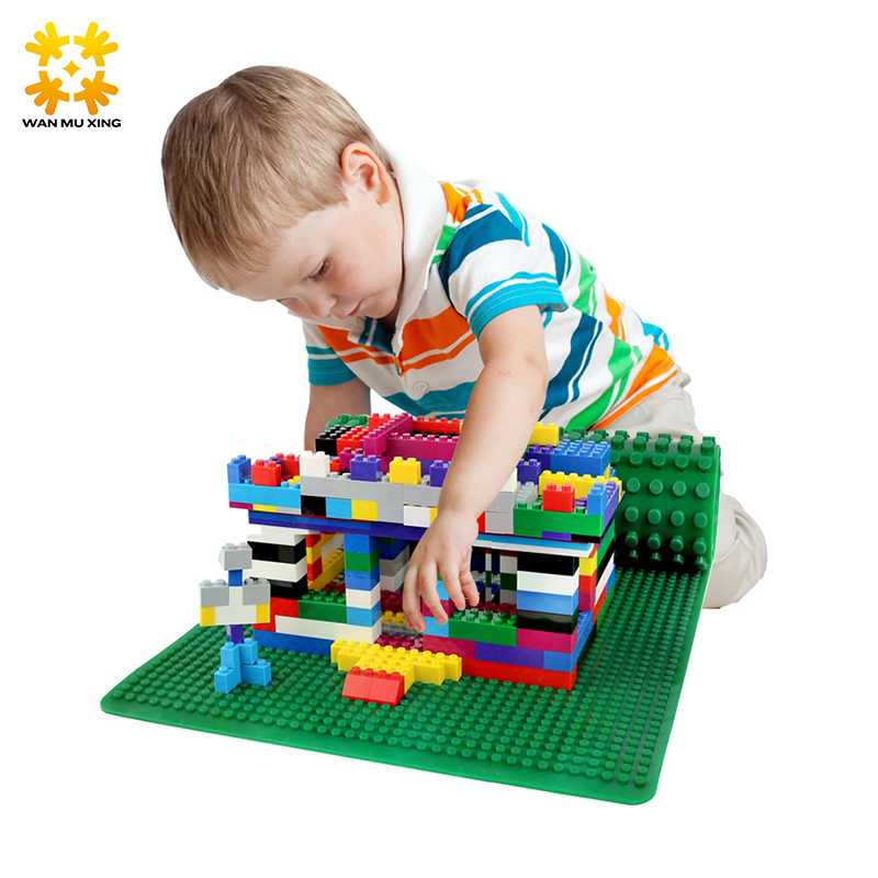 New Version Soft Small Big Blocks Base Plate 38 38 Cm building blocks DIY Baseplate For