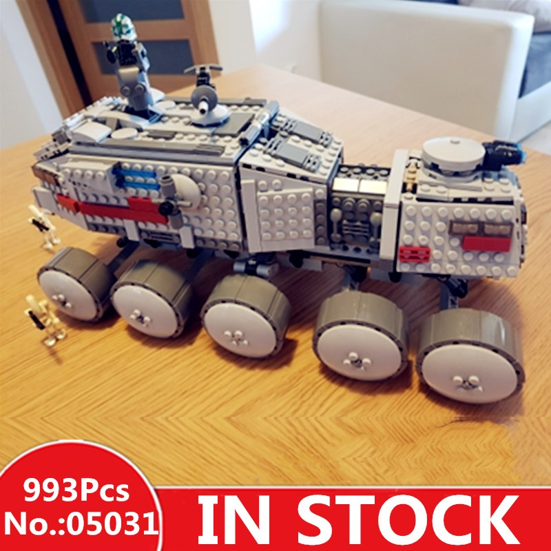 H&HXY 05031 933Pcs Star Clone Turbo Tank lepin wars Building Blocks Compatible with 75151 Boy's DIY Child Toys Christmas Gifts lepin 05031 star series war 933pcs clone set turbo model tank 75151 building blocks compatible with boys toys birthday gift