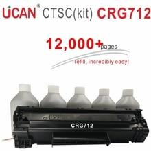 UCAN Cartridge 712 for Canon LBP3010 LBP3018 LBP3050 LBP3108 LBP3100 LBP3150 LBP3030 Printer Toner Cartridge 12000pages