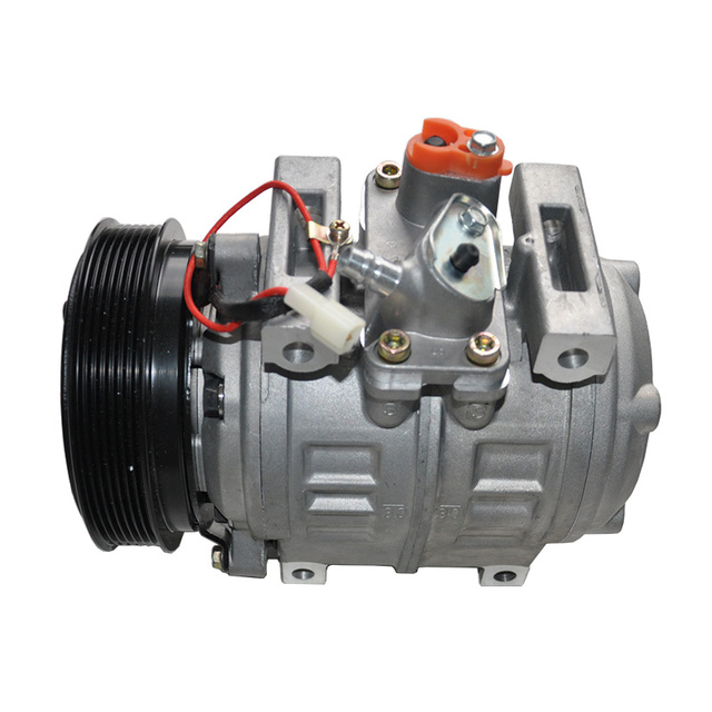 Newest DENSO 10P30C Airconditioning Compressor With Clutch ( 7PK) 7 Pulley for Toyota Coaster Middle Bus