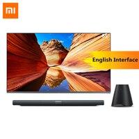 Оригинальный Xiaomi Mi ТВ 4 65 Inchs умный ТВ английский интерфейс Настоящее 4 K HDR ультра тонкий телевидения 3D Dolby Atmos Wi Fi/BLE подключения
