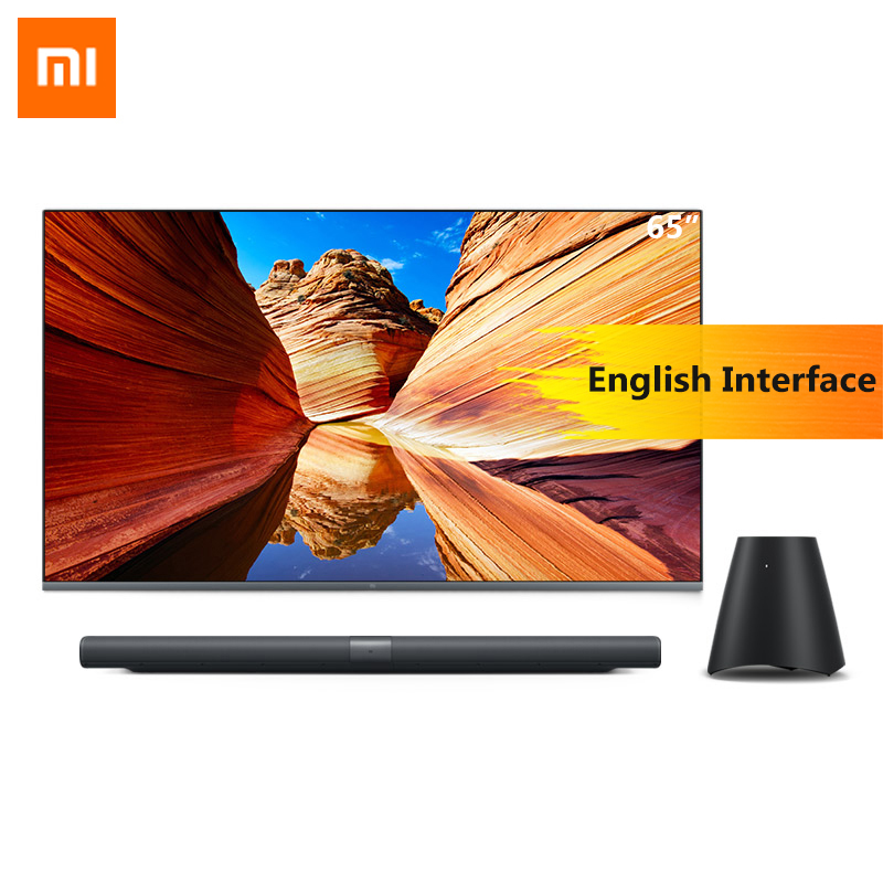 xiaomi mi tv 4 65 - Original Xiaomi Mi Mural TV Pad 65 Inchs 2G+32G Smart TV Home Theater Real 4K HDR Ultra Thin Television Subwoofer DOLBY DTS TV