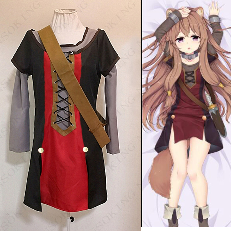Anime Tate no Yuusha no Nariagari The Rising of the Shield Hero Cosplay Raphtalia Costume custom