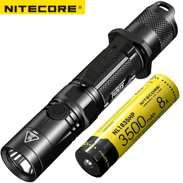 NITECORE P12GTS Cree XHP35 HD LED 1800 lümen açık taktik el feneri