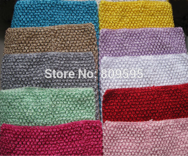10 Pcs 12 Inch Crochet Tutu Tops For 3t 7t Girls 10 Colors In Hair
