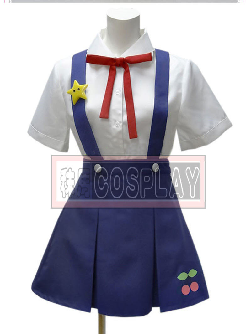 Bakemonogatari Monstory Hachikuji Mayoi cosplay costume