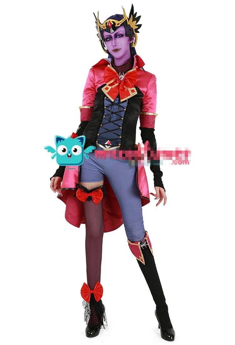 Widowmaker Cosplay Jen Cohn coslay costume widowmaker Magic Girl cosplay dress 2