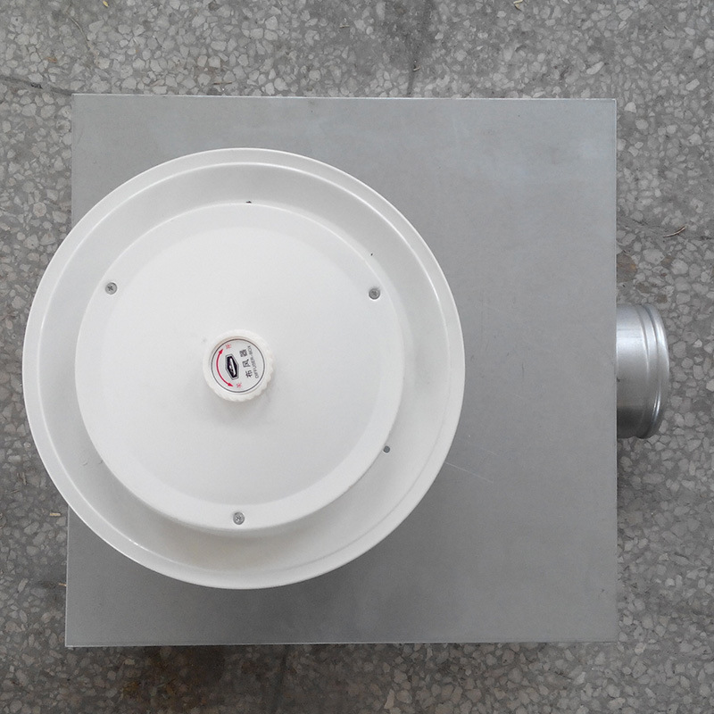 Air Distributor Central Air Conditioning Ventilation Galvanized Sheet Accessories Marine Ventilation FOR Customize