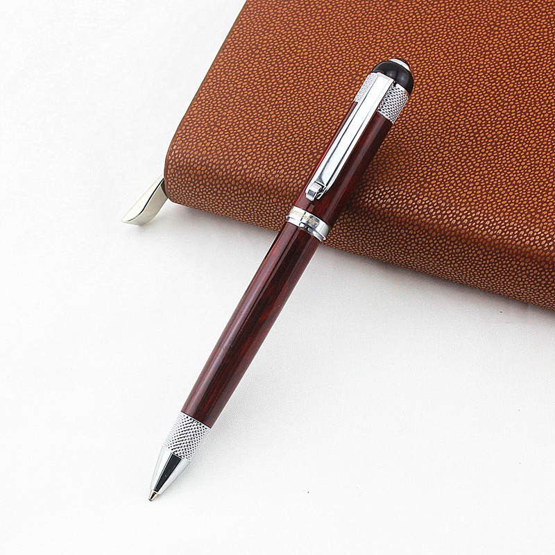 Luxury Metal Ballpoint Pen High Quality Roller Pen 0.7mm Black Ink Refill For Business Writing Office School Supplies