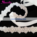 Free Shipping Pearl And Rhinestone Wedding Waist Belt Bridal Sashes