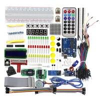 High Quality Ultimate Starter Kit For Arduino 1602 LCD Servo Motor LED Relay RTC
