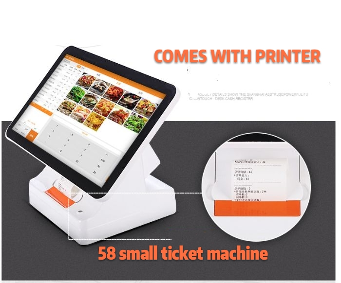15.6-inch Touchscreen Cash Register POS All In One Pc With Camera