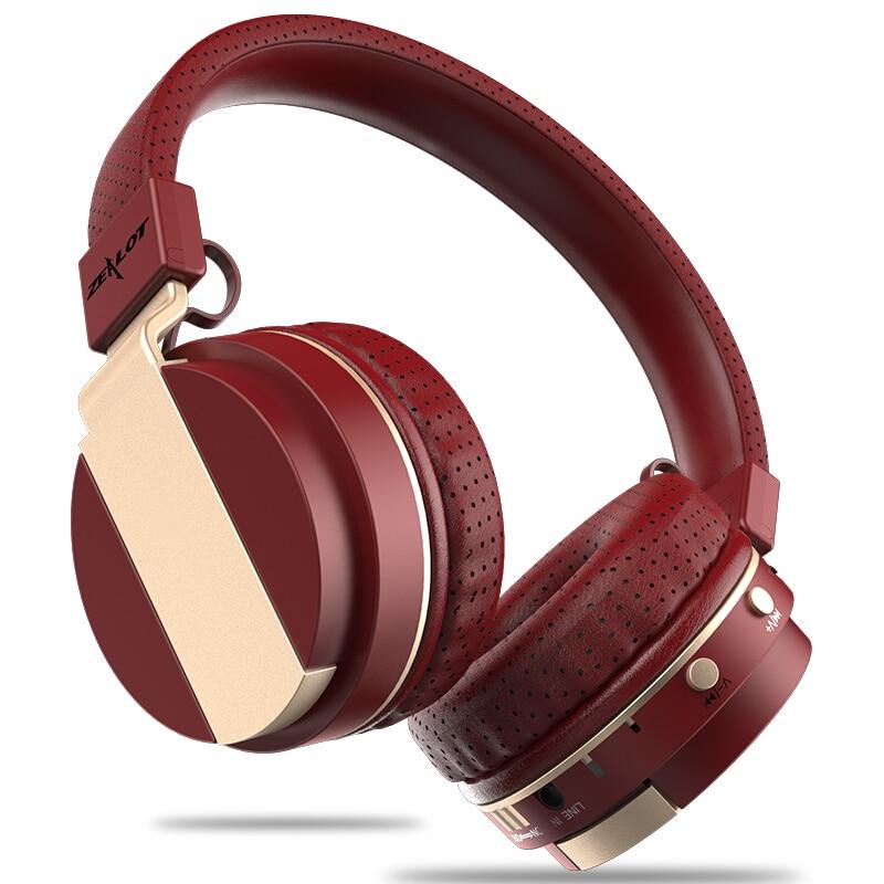 ZEALOT B17 Wireless Bluetooth Headphone Super Bass Stereo Headset FM Radio TF Card Play With Microphone