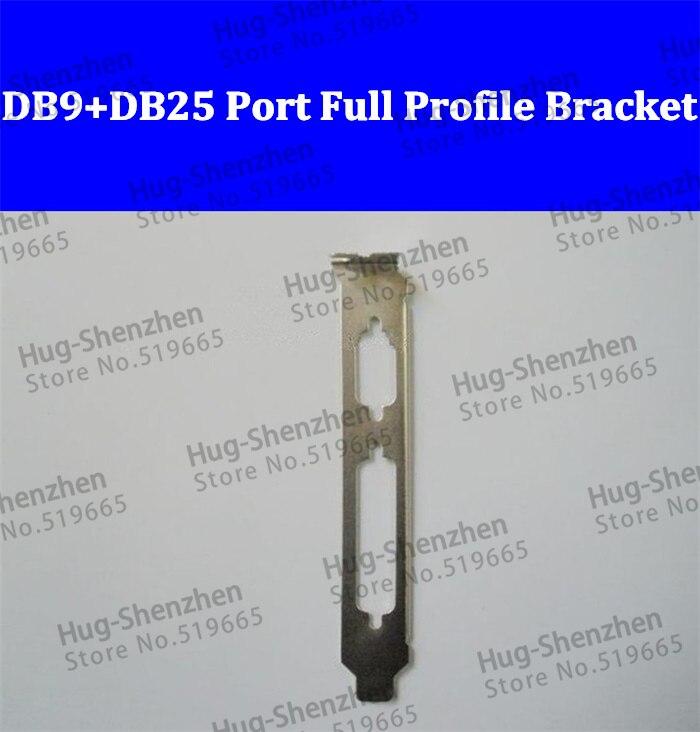 Perfil de Porta Serial com Port + Db25 Pci-e Parral Completo Suporte 50 Pcs Pci Db9 Lpt