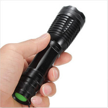 5 Modes Led flashlight CREE XML T6 Zoomable LED Torch Focus LED Torch Light Water Resistant for 18650 3AAA