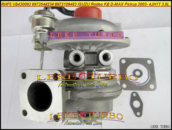 RHF5 8973544234 8973109483 VIEK VA430093 VB430093 Water Turbo For ISUZU Rodeo;KB;D-MAX Pickup 2003- 4JH1T 4JH1-TC 3.0L 130HP free ship rhf5 8973544234 8973109483 turbocharger cartridge turbo chra core for isuzu rodeo kb d max pickup 4jh1t 4jh1t c 3 0l