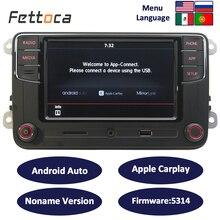 RCD330 плюс Android Авто CarPlay RCD330 6,5 «MIB Noname автомобильный радиоприемник 187B для гольфа 5 Jetta MK5 MK6 CC Tiguan Passat B6 B7 Polo