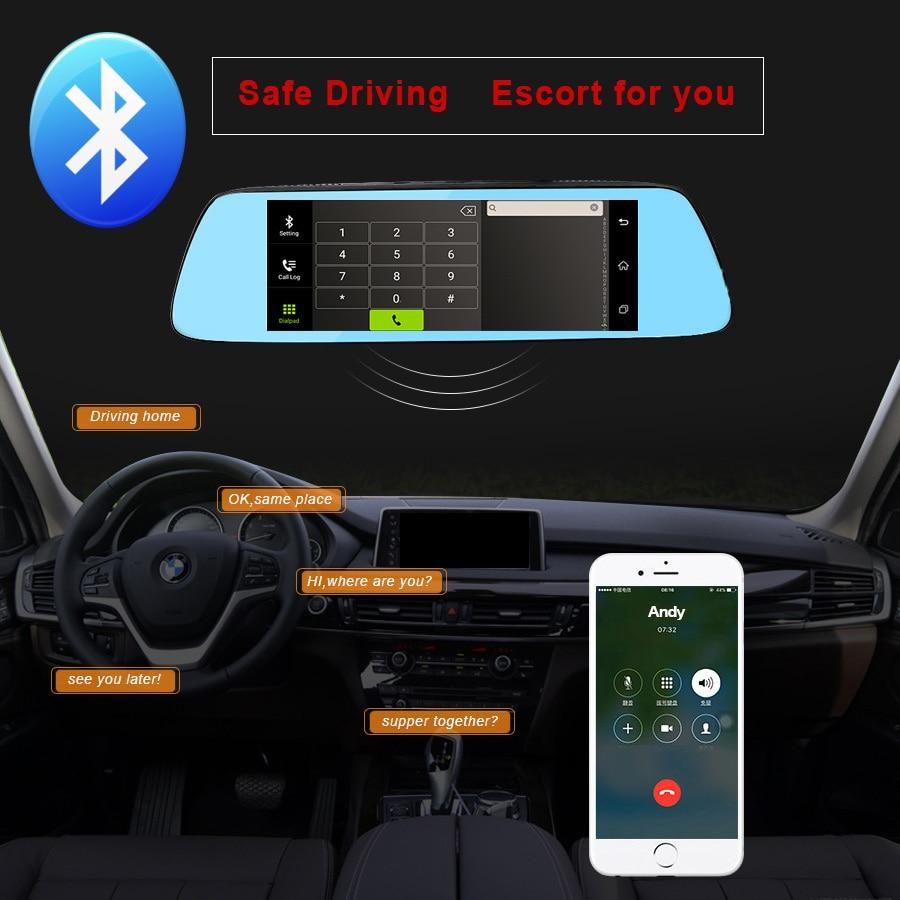 TOPSOURCE 7 '' Special Car DVR Camera Mirror Android 5.0 Nawigacja - Elektronika Samochodowa - Zdjęcie 5