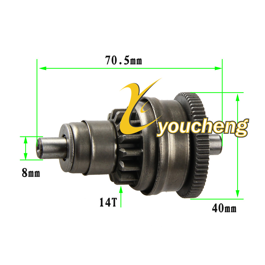 Back To Search Resultsautomobiles & Motorcycles Gy6 125cc 150cc One Way Starter Clutch 152qmi 157qma Atv Scooter Go Kart Parts Hot Sale 50-70% OFF