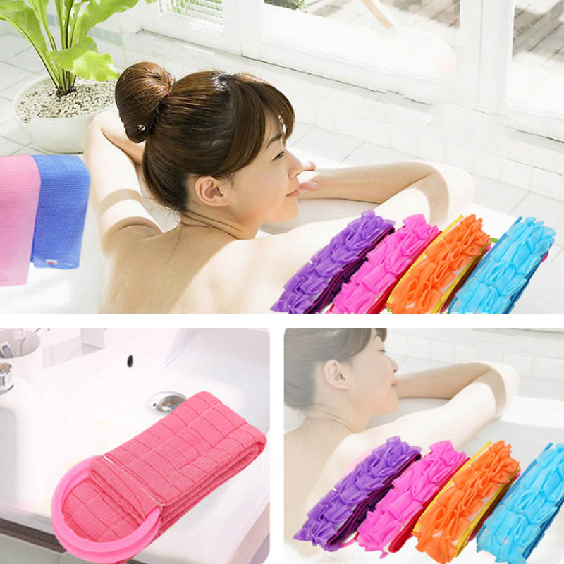 Back Bath Towel 1 PCS Multifunction Bath Flower Bathing Tools Durable Bath Ball Bathroom Supplies Portable