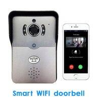 Home Use Smart WIFI Wireless Doorbell Two Way Video Recorder Door Phone APPs Unlock And Communication