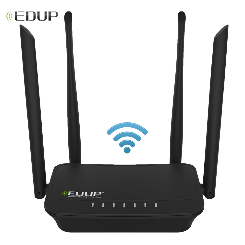 EDUP Wifi Repeater Wireless 300Mbps English Firmware Version Wifi Router 2.4Ghz Wifi Range Extender Wi-fi Amplifier Wlan Port