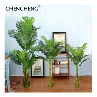 Artificial Tree Green Leaves Realistic Office Supplies Decorative Garden Green Plants Family Party Subtropical Plants CHENCHENG