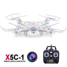 Hot sale Syma X5C -1  Remote Control Helicopter quadrocopter With HD camera 2.0mp X5C-1 Drone 2.4GHz 6 Axis 4CH UAV drones